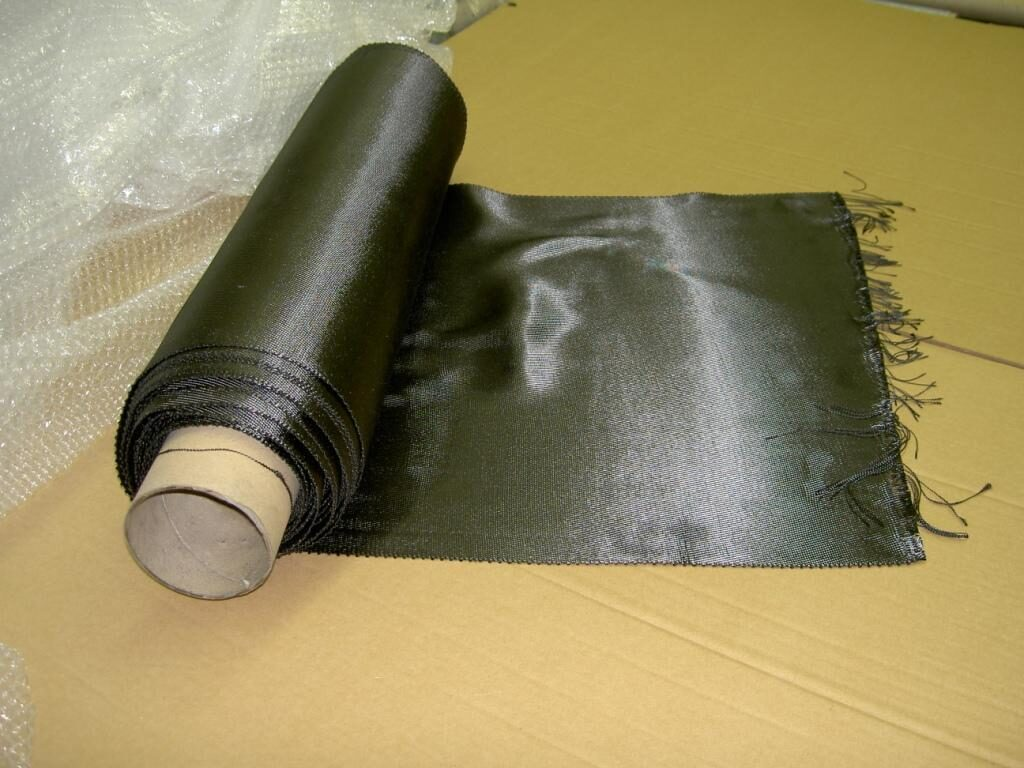 Viskoze based carbon fiber cloth